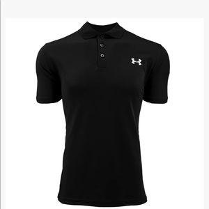 NWT Mens Under Armour Heatgear Polo Shirt